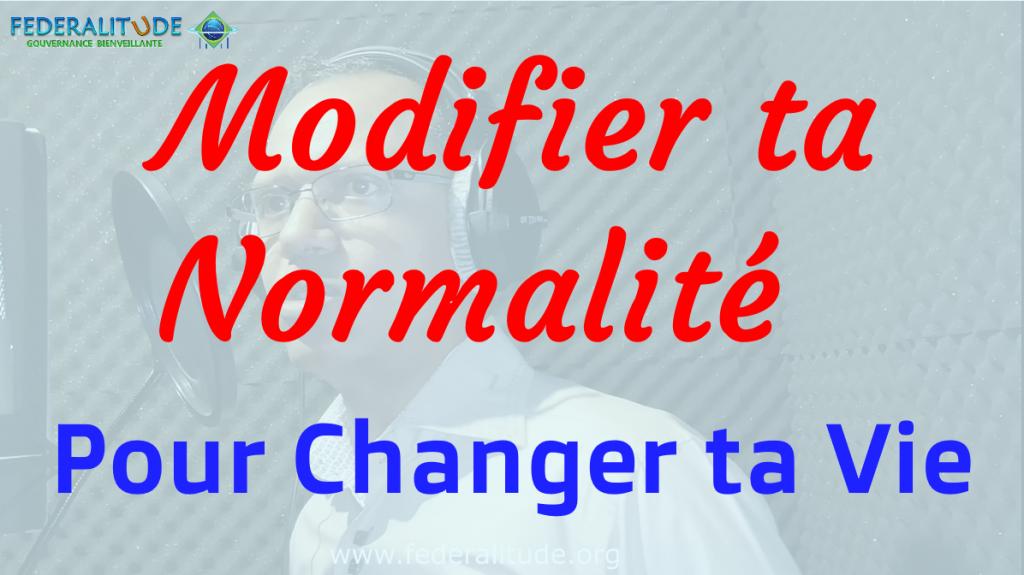 Federalitude Modifier Normalite