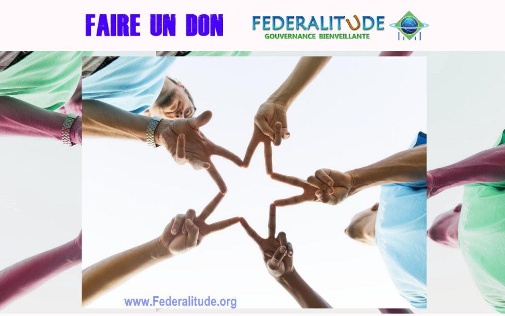 FIBG Faire un DON Federalitude